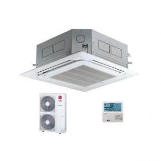 Aire acondicionado Cassette LG 12000 frigorías UT48NM2+UU48WU32