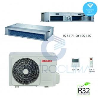 Conductos Clase A++ 3000 frigorías Inverter Johnson Electra DCD012