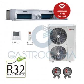Aire acondicionado EAS ELECTRIC EDM125VRK Conductos 10750 frigorias R32