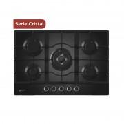 Placa de Cristal Gas 75cm EMH750CGB