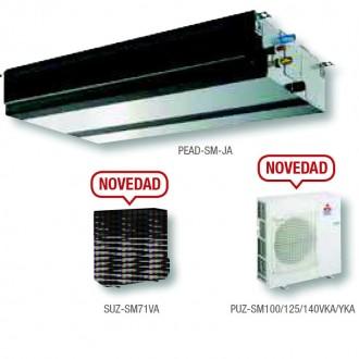 Conductos Mitsubishi electric serie PRO 10750 frigorias GPEZS-125VJA