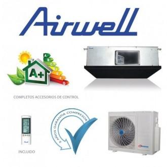 Conductos Clase A+ 8200 frigorías Inverter AIRWELL DLSE036
