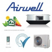 Conductos clase A+ 24000 frigorías inverter Alta presión AIRWELL DCD95 Trifásico