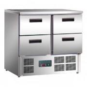 Mesa Refrigerada Compacta GN1/1 Eco 900X700X880h mm 4 cajones U638