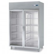 Armarios GN 2/1 Refrigeración Eco 460X665X2075h mm 1 puerta cristal AGVD-50