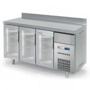 Frente Mostrador Refrigerado Eco 2020X600X1040h mm 3 puertas cristal FVD-200