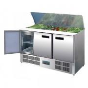 Mesa Refrigerada Preparación Eco 900X700X885h mm 2 puertas G606