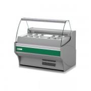 Vitrinas Refrigeradas Cristal Recto 1055X940X1231h mm 10 Cubetas con reserva VE-9ES-10-R-TF-CR