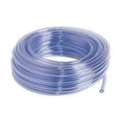 TCRISTAL 4-6-Tubería PVC flexible cristal liso para bomba condensados 6 mm. Rollo 25 m