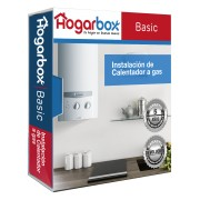HogarBox Basic, instalación calentador de agua a gas