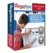 HogarBox Aero System Plus, instalación bomba de calor ACS hasta 500l