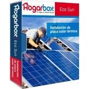 HogarBox EcoSun, instalación de placas solares térmicas